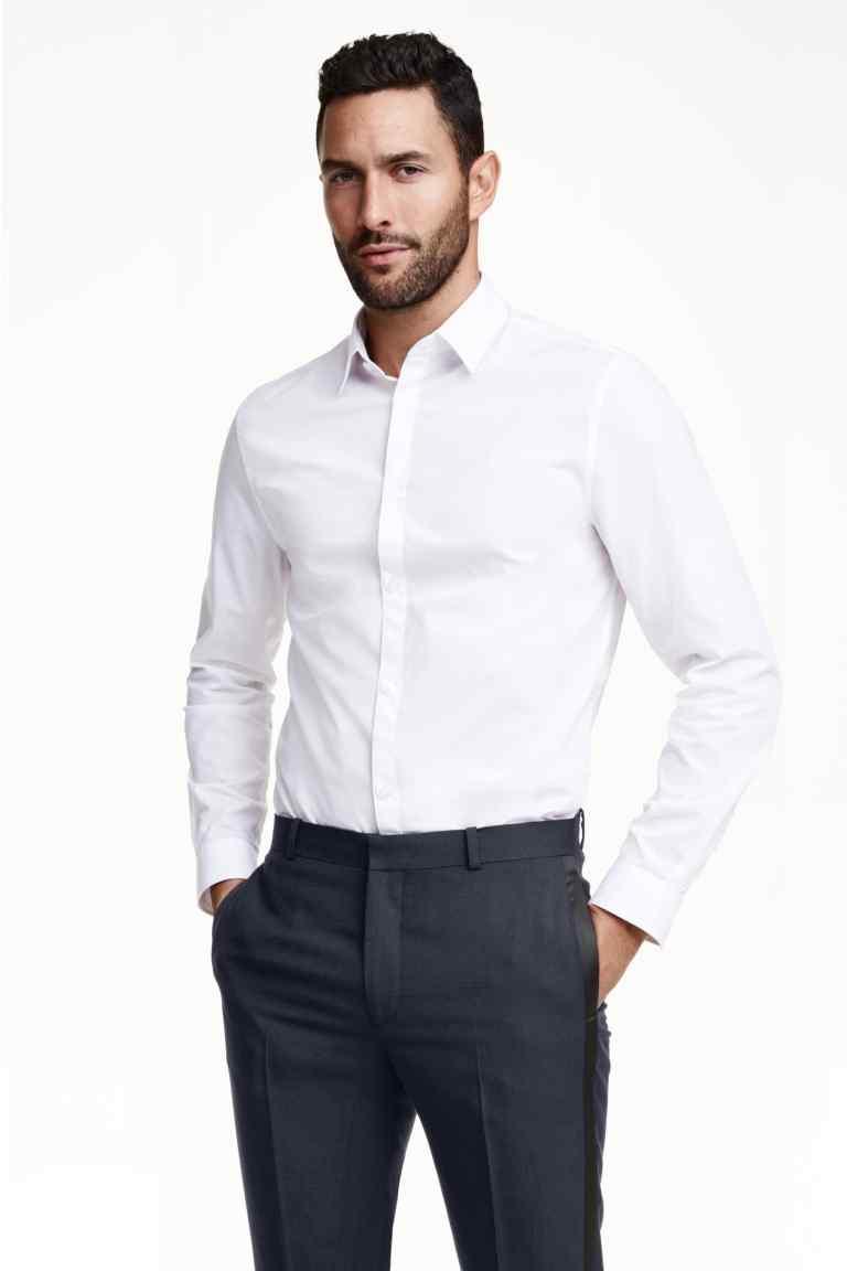 Męska koszula za 26zł + darmowa dostawa @ H&M