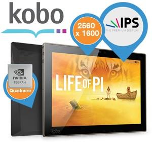 [iBood] Tablet Kobo Arc 10HD z rozdzielczością 2560 x 1600 za 974,90 zł
