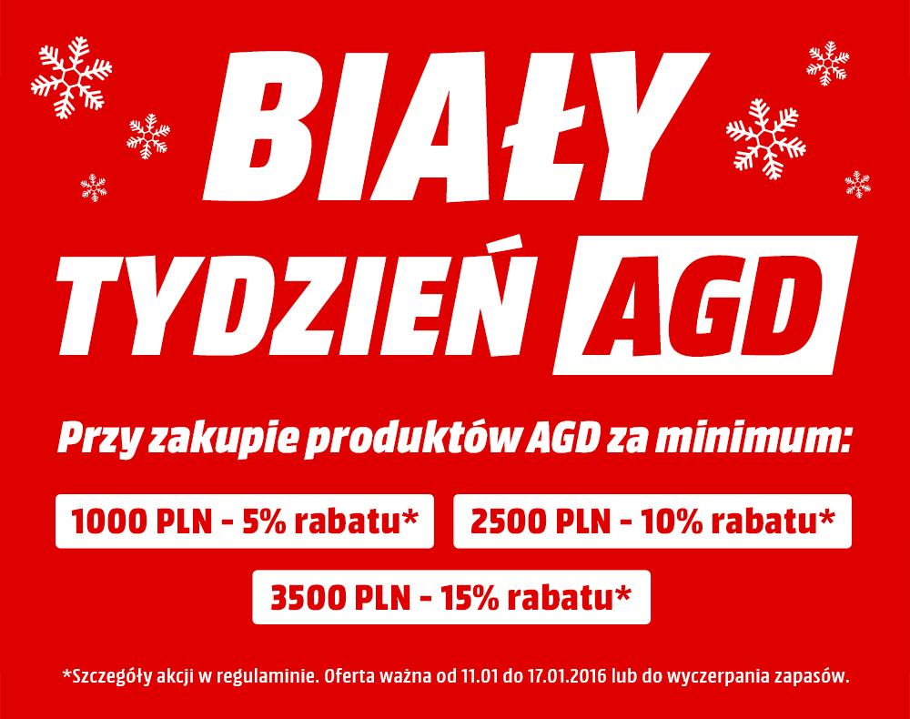 Do 15% zniżki na sprzęt AGD @ Media Markt