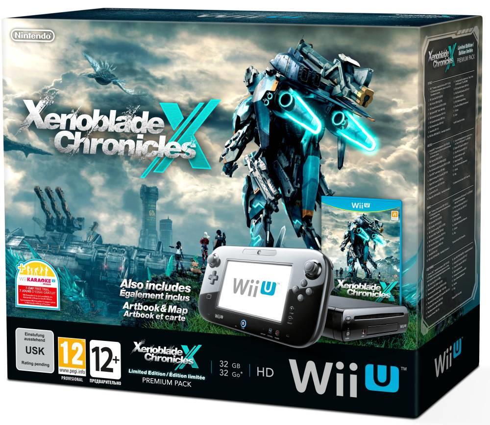 Nintendo Wii U Premium Pack + Xenoblade Chronicles X za 1099zł @ Komputronik