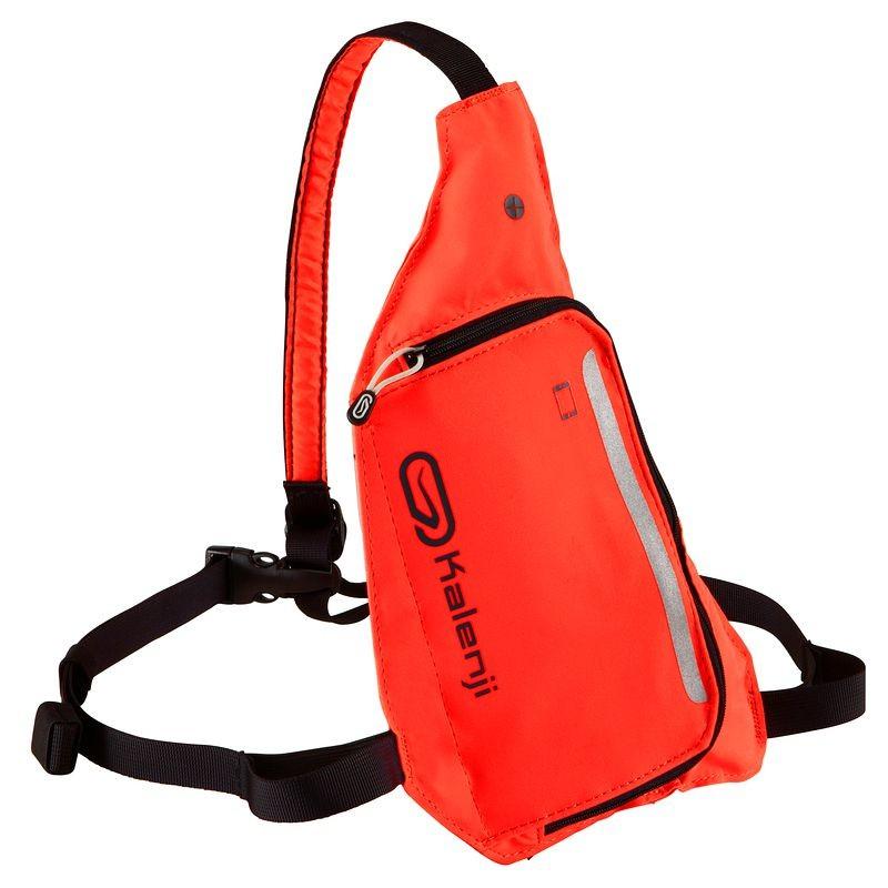 Plecak 2 Pozycje pomarańczowy/fioletowy KALENJI @ Decathlon