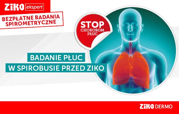 Bezpłatne badania spirometryczne @ Ziko Apteka