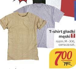 Męski t-shirt za 7zł @ Carrefour