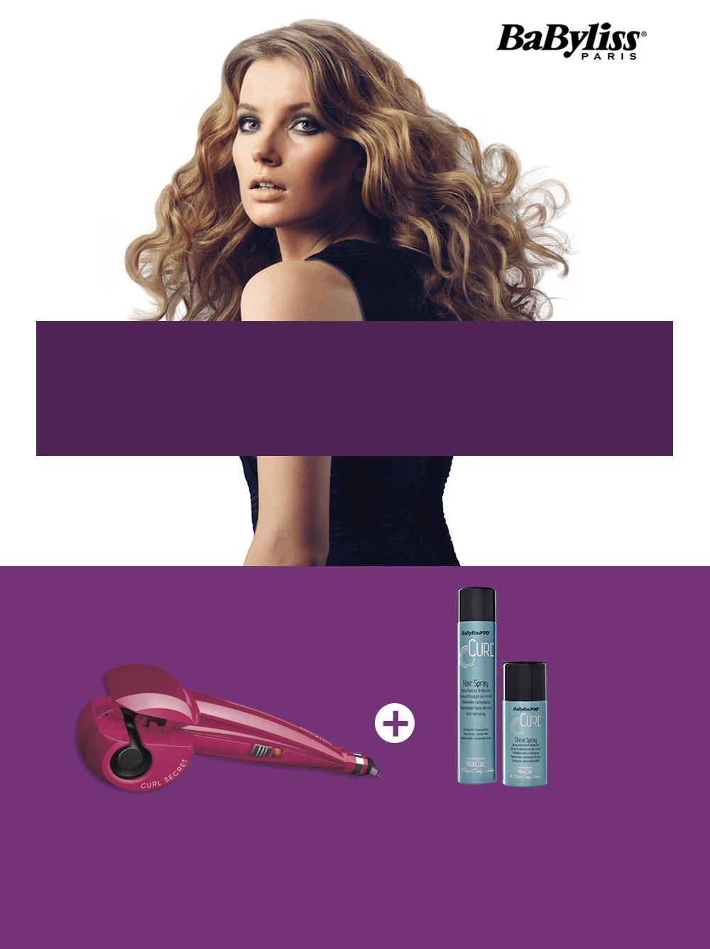 Kosmetyki do włosów GRATIS przy zakupie lokówki automatycznej Babyliss @ Media Expert