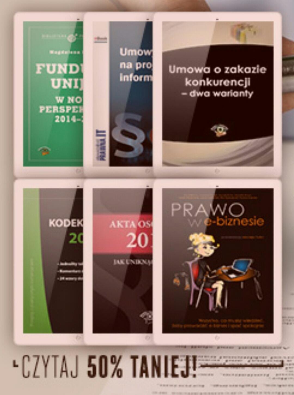 Ebooki (nie tylko) dla studentów od 9,90 zł @ ebookpoint.pl