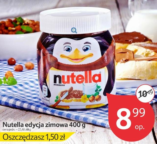 Nutella: edycja zimowa 400g za 8,99zł @ Tesco