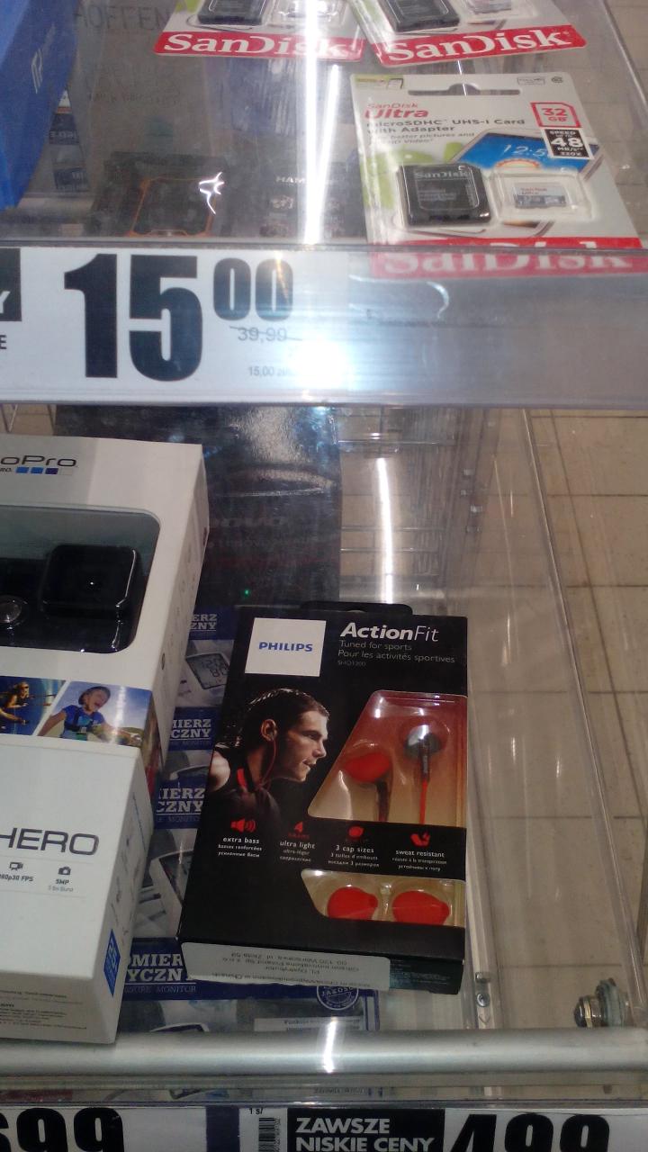 Słuchawki sportowe Philips SHQ1200 z Biedronki