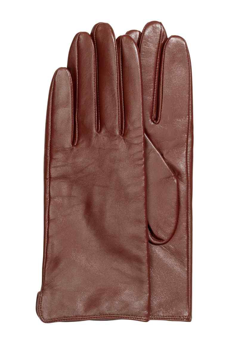 Skórzane rękawiczki (męskie za 47,92zł, damskie za 41,18zł) + darmowa dostawa @ H&M