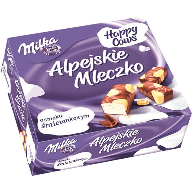 Alpejskie Mleczko od Milki za 6,49zł  @ Intermarche