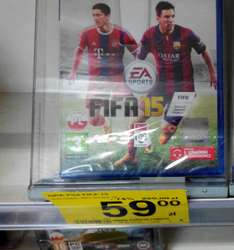 FIFA 15 PS4/XBOX ONE/PS3