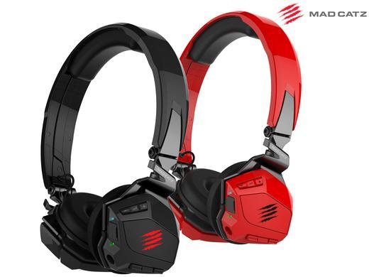 Słuchawki bezprzewodowe Mad Catz F.R.E.Q.M (czarne lub czerwone) za 179,95zł @ iBood