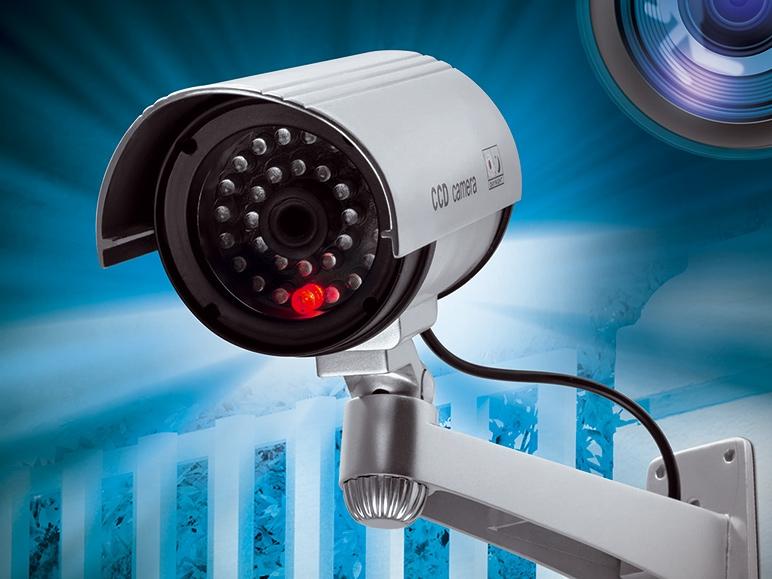 Atrapa kamery do monitoringu za 22,99zł @ Lidl