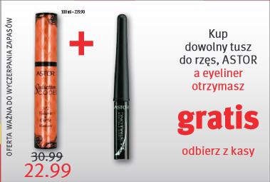 Przy zakupie tuszu do rzęs Astor, eyeliner GRATIS @ Rossmann