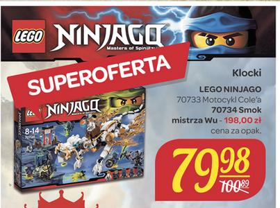LEGO Ninjago Motocykl Cole'a za 79,98 (70733) @ Carrefour