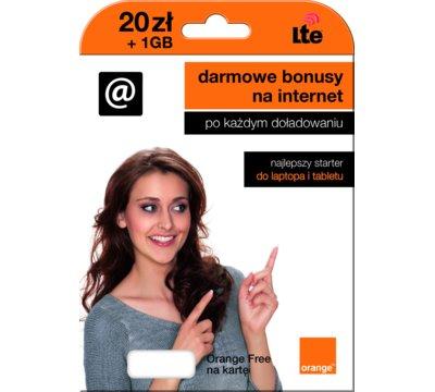 14 GB Internetu i nielimitowane rozmowy/SMSy - Orange