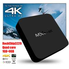 TV BOX MXQ 4k - Bardzo dobry TV BOX @Geekbuying