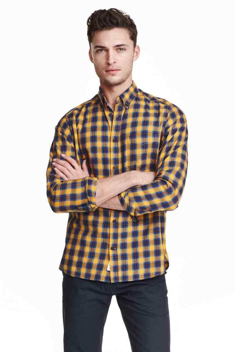 Koszula męska, pełna rozmiarówka, trzy kolory do wyboru @ H&M