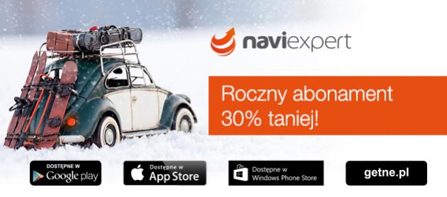 Roczny abonament nawigacji 30% taniej @ NaviExpert