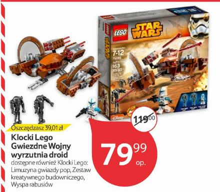 Klocki Lego Star Wars  Hailfire Droid (nr 75085) za 79,99zł @ Tesco