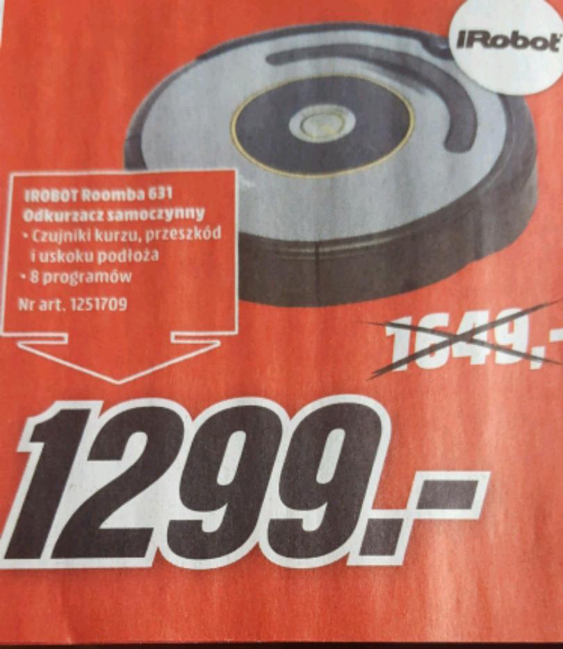 iRobot Roomba 631@Media Markt