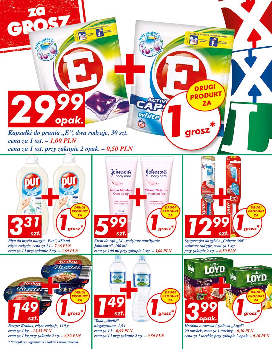 """Kapsułki """"E"""" 30szt za 29.99 + drugi za grosz/ Auchan"""