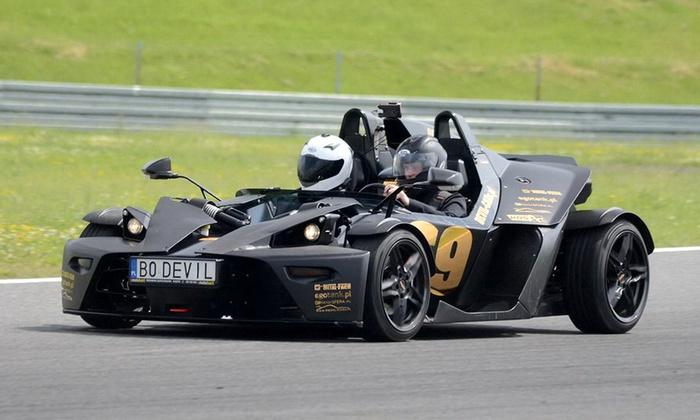 Ekstremalna jazda samochodem wyścigowym KTM X-BOW od 149zł @ Groupon