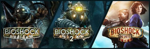 BioShock Triple Pack za ok. 40zł @ Steam