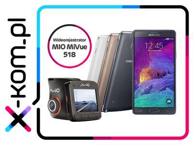 SAMSUNG Galaxy Note 4 + MIO MiVue 518 za 2149 @ x-kom Allegro