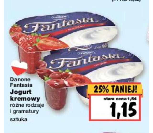 Fantasia 1,15zl - z kuponem Żbik 3 za 45gr @ Kaufland