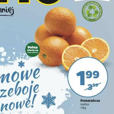 Pomarańcza 1 kg @ Netto