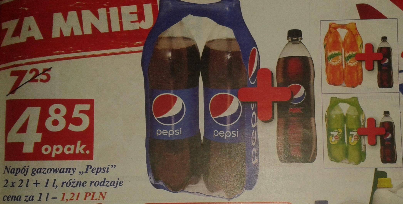 Pepsi w super niskiej cenie