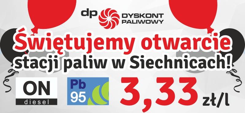 Tłuste ceny paliwa na tłusty czwartek - tylko do północy Pb95 i ON po 3.33/litr