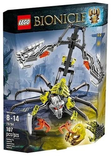 Lego Bionicle: Czaszkowy skorpion (nr kat.70794) za 36zł @ Ravelo Outlet