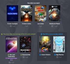 Gry od ok. 4zł (Frozen Synapse, Shattered Planet i inne) @ Humble Weekly Bundle