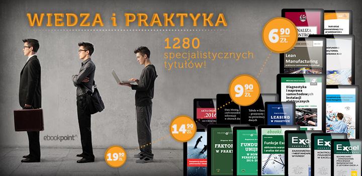 """Wielka przecena ebooków: 1280 tytułów z kategorii """"Wiedza i nauka"""" od 6,90 zł @ ebookpoint.pl"""