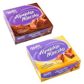 Milka Alpejskie Mleczko za 6,99zł @ Tesco