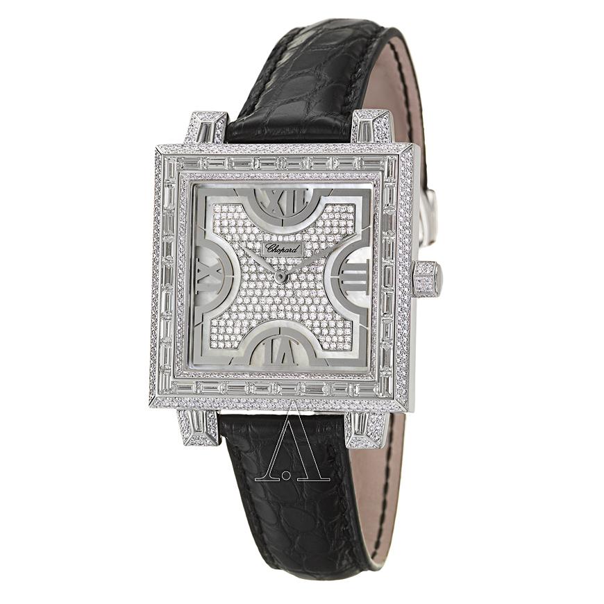 Zegarek męski Chopard Classique (18k złoto, diamenty, skóra krokodyla) za 166588zł @Ashford