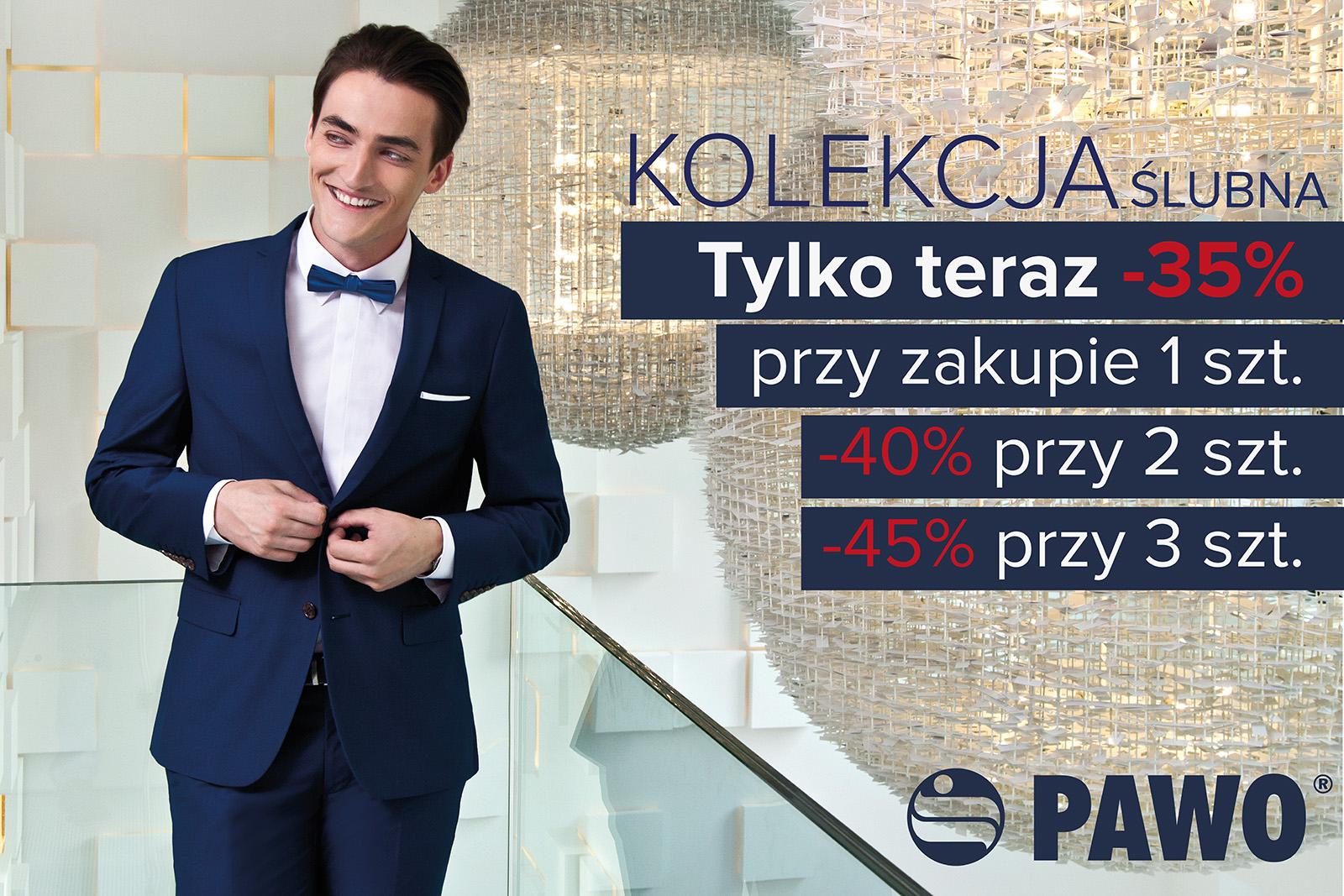 Rabat do 45% na kolekcję ślubną @ Pawo