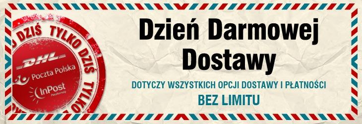 Dzień Darmowej Dostawy (BEZ LIMITU!)  TYLKO DZIŚ@ Znak.com.pl