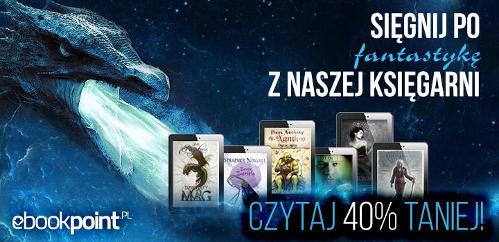 Fantastyka 40% taniej @ ebookpoint.pl