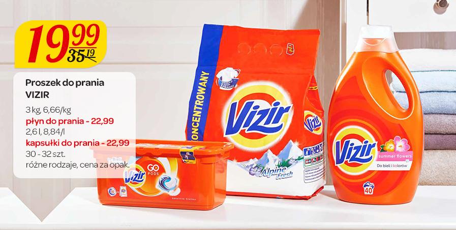 Proszek do prania Vizir 3kg za 19,99zł @ Carrefour
