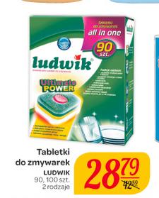 Tabletki do zmywarek Ludwik w cenie 28,79zł za 90/100szt. @ Carrefour