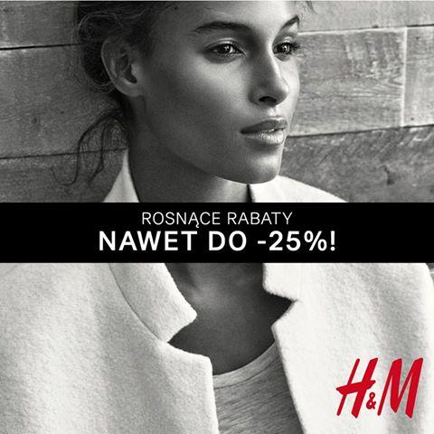 Zniżki -15% -20 -25 % @ H&M
