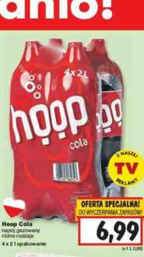Hoop Cola 8 litrów @ Kaufland