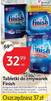 Tabletki do zmywarki Finish  TESCO HIPERMARKET