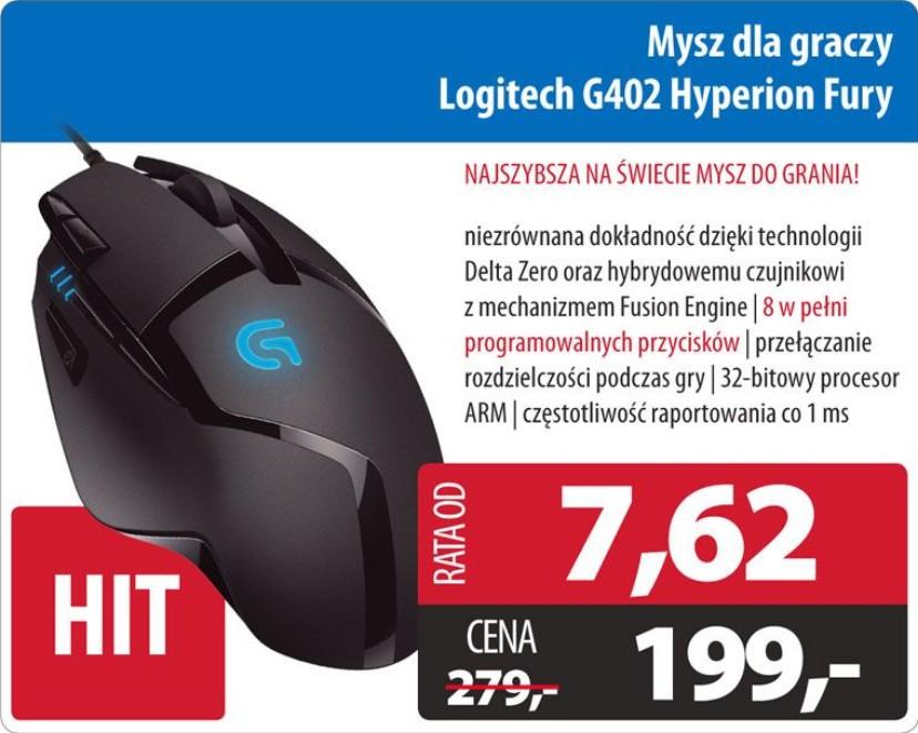Mysz dla graczy LogitechHyperion Fury - Komputronik