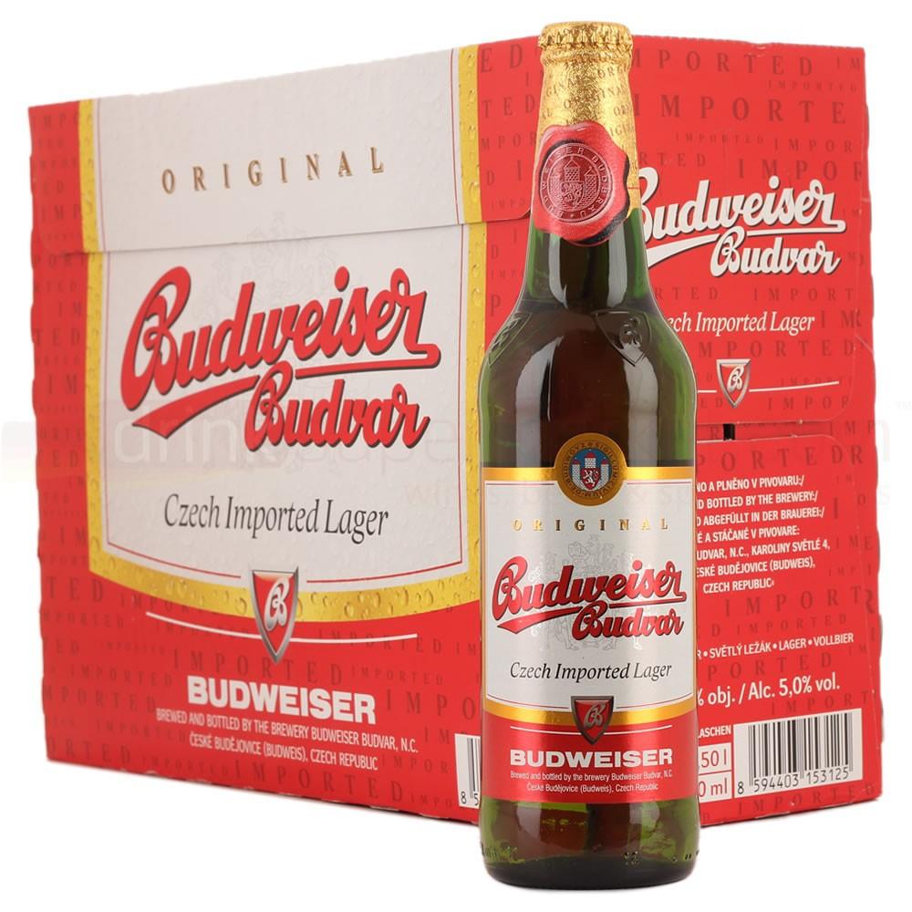 (19 lutego) 20 butelek piwa Budweiser za 40zł @ Netto