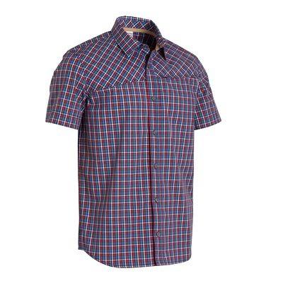 50% TANIEJ, męska koszula na krótki rękaw (Arpenaz 100 QUECHUA) za 34,99 zł @ Decathlon