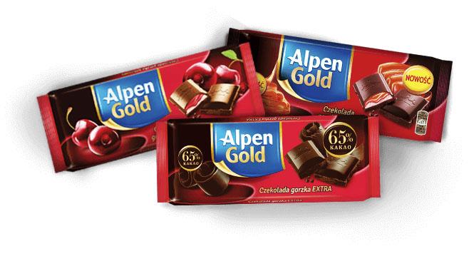 KUP 3 CZEKOLADY Alpen Gold a w prezencie dostaniesz zestaw 3 foremek do ciasta