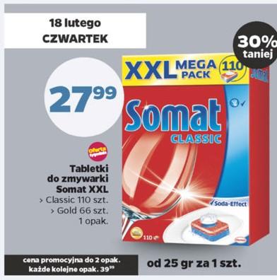 Tabletki Somat XXL za 27,99zł @ Netto